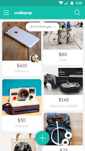 screenshot of Wallapop - Buy & Sell Nearby version 1.47.1