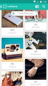 screenshot of Wallapop version 1.9.0.2