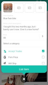 screenshot of Wallapop - Buy & Sell Nearby version 1.10.0.3
