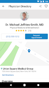 screenshot of WebMD: Check Symptoms, Find Doctors, & Rx Savings version 6.15.1