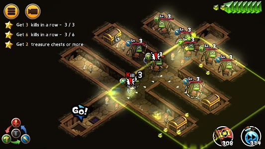 screenshot of WhamBam Warriors - Puzzle RPG version 1.1.177