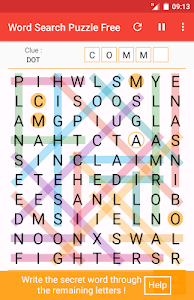 screenshot of Word Search Puzzle Free version 2.4