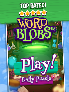 screenshot of WordBlobs version 1.1.9
