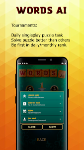 screenshot of Words With AI (Free offline games) version 0.5.8