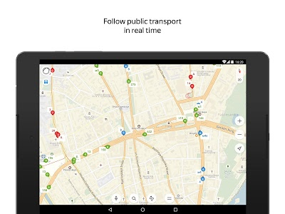 screenshot of Yandex.Maps version 8.1.1