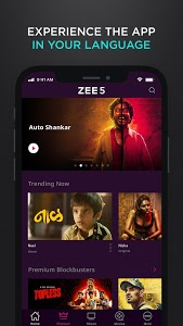 screenshot of ZEE5 - Latest Movies, Originals & TV Shows version Varies with device