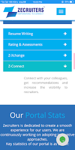 screenshot of Zecruiters- Job and Recruitment Portal version 1.8