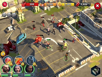 screenshot of Zombie Anarchy: Survival Strategy Game version 1.3.1c