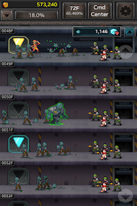 screenshot of Zombie Hive version 2.3