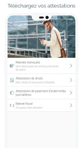screenshot of ameli, l'Assurance Maladie version Varies with device