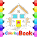 Download coloring princess candy house 1.0.1 APK