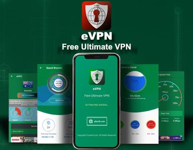 screenshot of eVPN - Free Ultimate VPN version 3.2