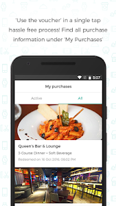 screenshot of nearbuy - Best offers near you version 4.0.3